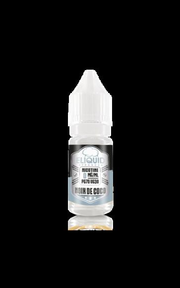 Liquide prêt-à-vaper Eliquid France - Noix de Coco - 10ml