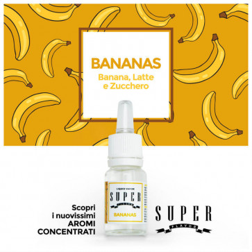 Concentré Super Flavor -  Bananas - 10ml