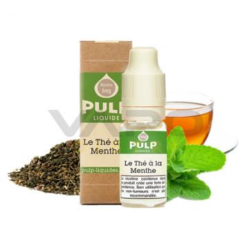 Liquide prêt à vaper PULP - Le thé à la menthe 10ml