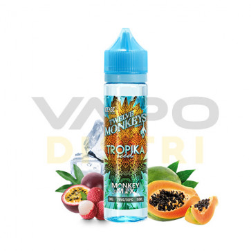 Liquide prêt-à-vaper Twelve Monkeys Vapors KEEP COOL - Tropika Iced - 50ml