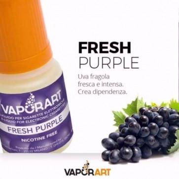 Liquide prêt à vaper Vaporart 10ml - Fresh Purple