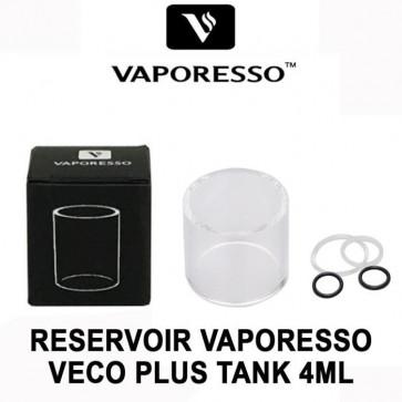Verre Pyrex de remplacement pour Vaporesso Veco Plus 4ml