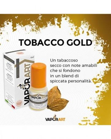Liquide prêt à vaper Vaporart 10ml - Tobacco Gold