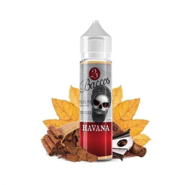 Arôme concentré 20ml tabac gourmand 3 Baccos Havana