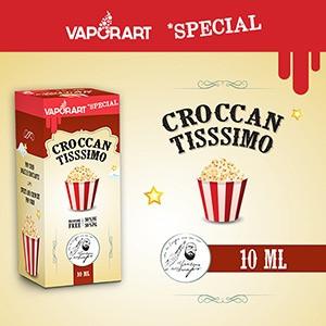 Crocantissimo vaporart 10ml eliquide pop corn gourmand