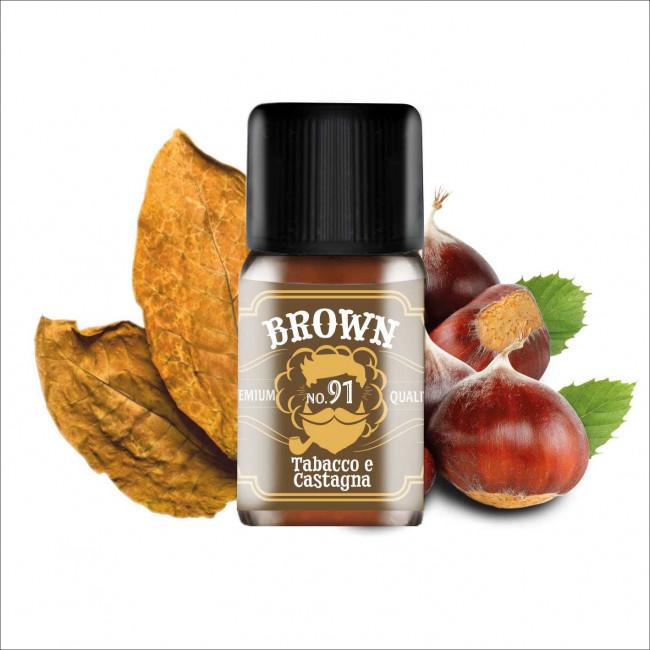 Arôme Dreamods 91 Brown 10ml Tabac Châtaigne