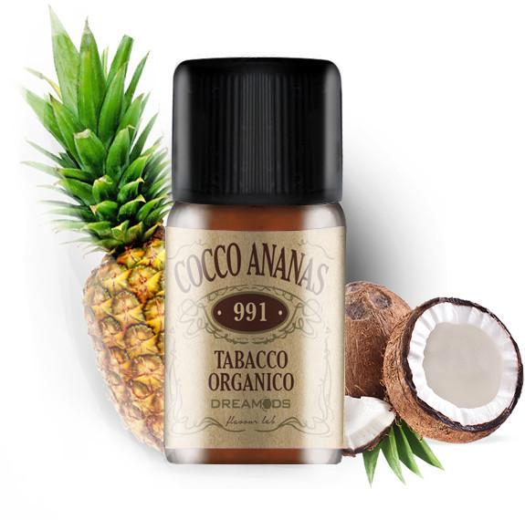Arôme concentré 991 cocco ananas 10ml Dreamods
