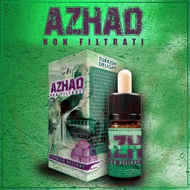 Azhad's Elixirs Non filtrati Turkish Delight arôme concentré 10ml classic tabac cassis