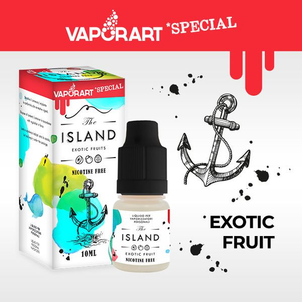 Eliquide Vaporart The Island 10ml
