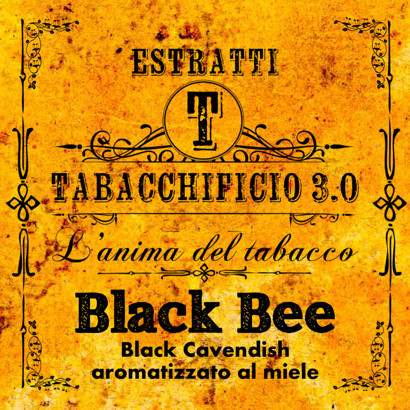Arôme concentré Tabacchificio 3.0. 20ml Black Bee tabac et miel