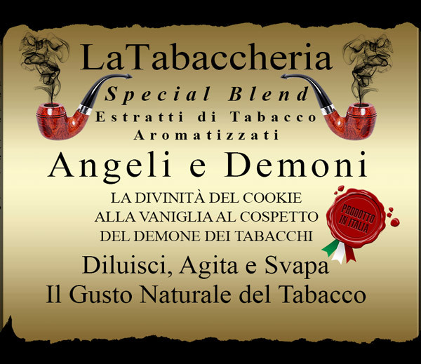 Concentré La Tabaccheria - Special Blend - Angeli e demoni - 10ml etiquette