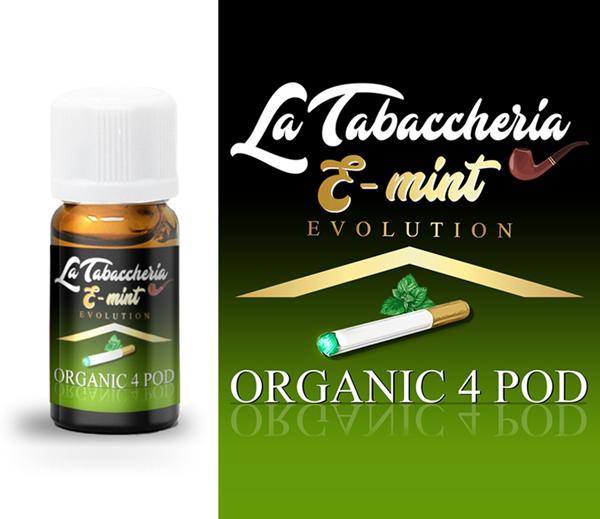 extrait de tabac aromatisé la tabaccheria menthe poivrée bio
