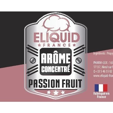 Arôme concentré Fruit de la Passion Eliquid France 10ml pas cher