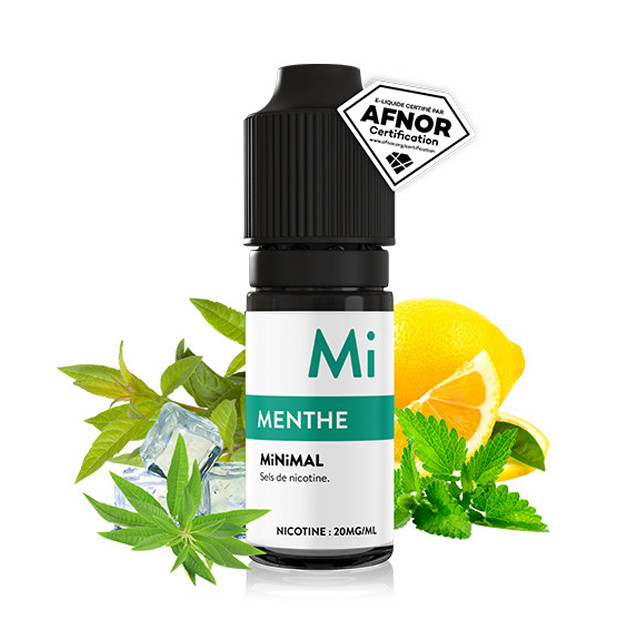 Liquide Minimal - Menthe - 10ml (sels de nicotine) 20mg/ml
