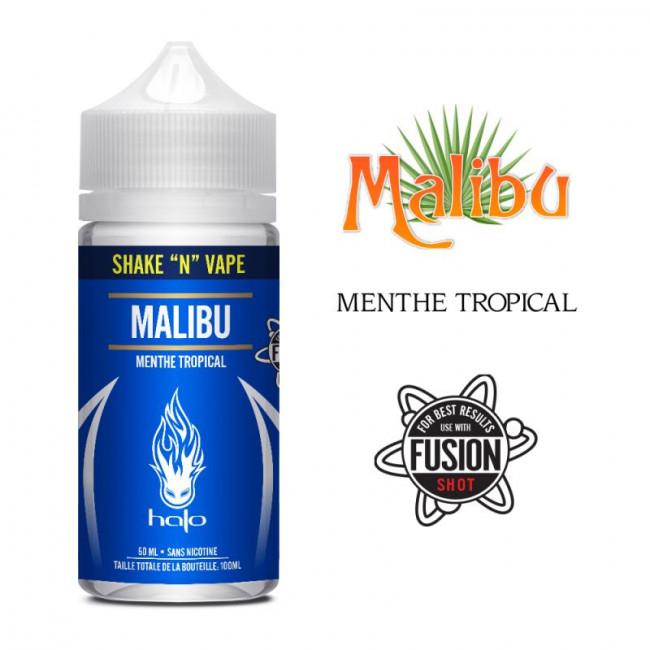 Malibu HALO 50ml pas cher pina colada
