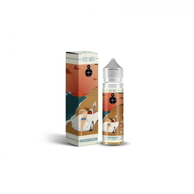 Liquide Côte Ouest par Curieux 50ml Hossegor
