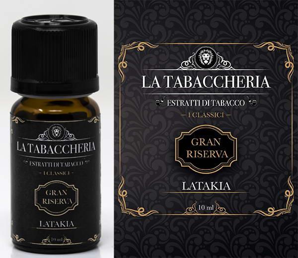 Arôme concentré La Tabaccheria - Gran Riserva - 10ml - Latakia