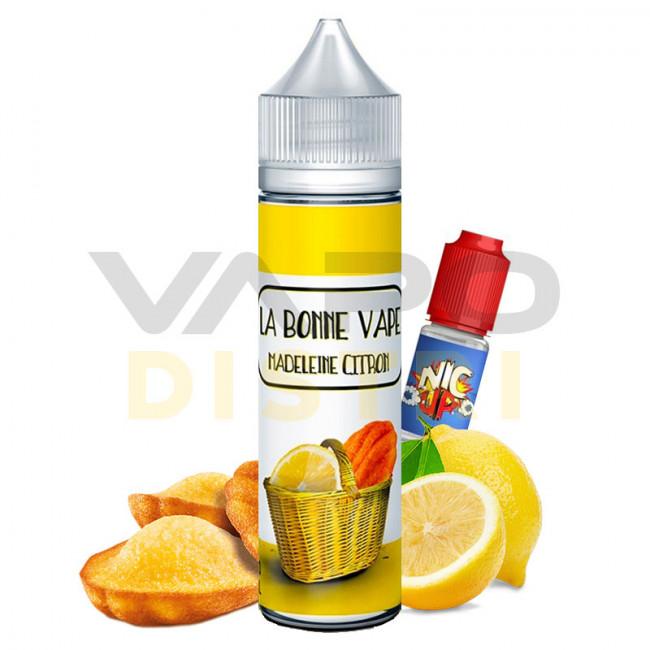 E-liquide La Bonne Vape Madeleine Citron 50ml VapoDistri