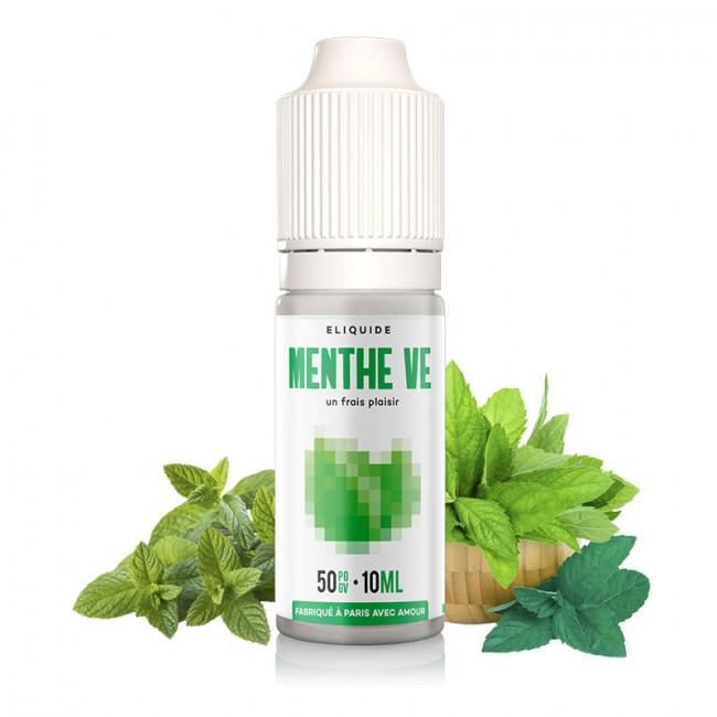 Liquide menthe verte chlorophyle pour cigarette electronique 10ml nicotiné Fuu prime