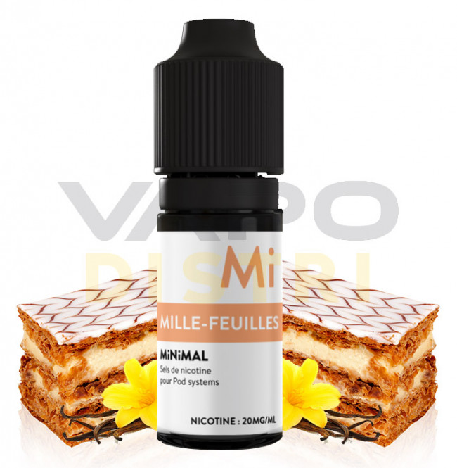 E-liquide Minimal Millefeuille VapoDistri
