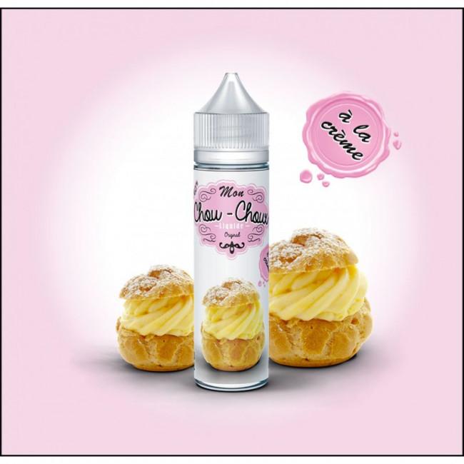 Liquide prêt-à-vaper Mon Chou-Choux À la Crème - 50ml