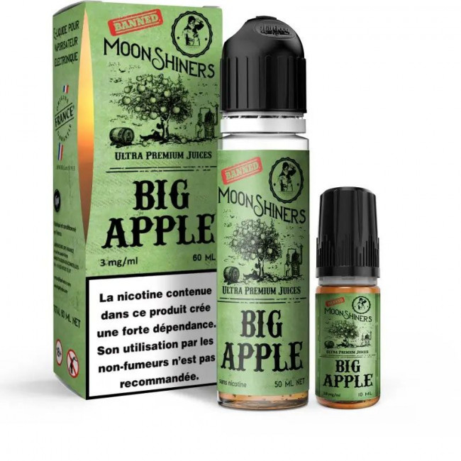 Liquide Moon Shiners Big Apple Le French Liquide Easy2Shake 60ml