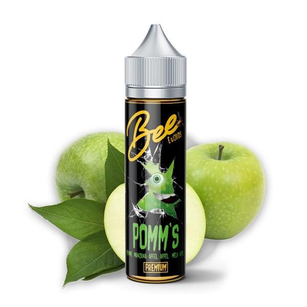 Liquide POMM'S de BEE ELIQUIDS à la pomme verte 50ml pas cher