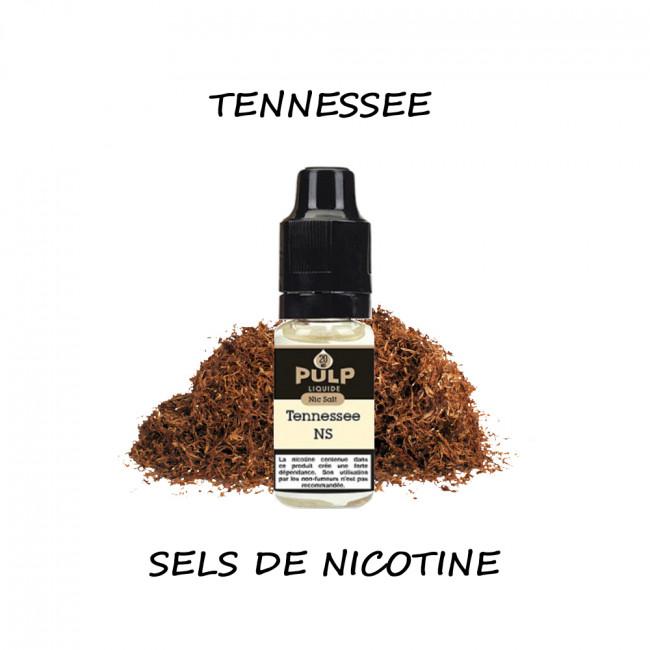 Pulp Tennessee Sels de nicotine 10ml pas cher