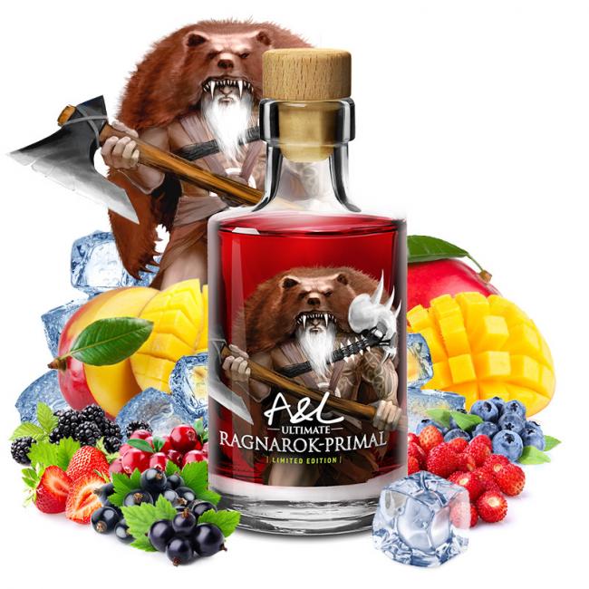 Ragnarok Primal édition limitée bouteille en verre 100ml