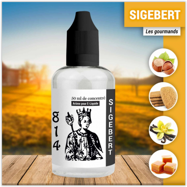Concentré 814 Sigebert 50ml