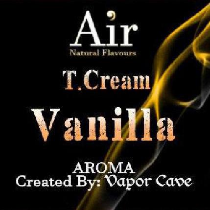T Cream Vanilla Vapor Cave 11ml arome concentré tabac vanille