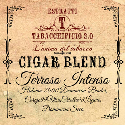 Terroso Intenso Cigar Blends Tabacchificio 3.0 20ml