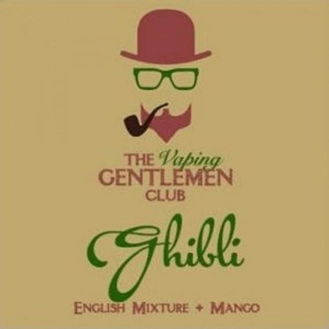 Etiquette Ghibli 11ml Vaping Gentlemen Club