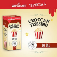 Crocantissimo vaporart 10ml eliquide pop corn gourmand