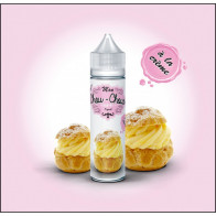 Liquide prêt-à-vaper Mon Chou-Choux - À la crème - 50ml + 1 booster 18mg/ml