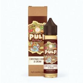 Liquide prêt-à-vaper - Pulp - Pulp Kitchen - Christmas Cookie & Cream - 50ml