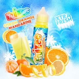 Liquide prêt-à-vaper - Fruizee - Citron Orange Mandarine - 50ml