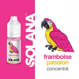 Concentré SOLANA - Framboise passion - 10ml