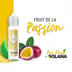 Liquide prêt-à-booster Pur Fruit by Solana - Passion - 50ml
