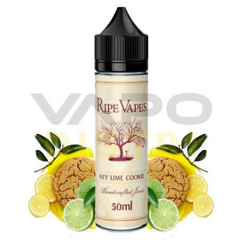 Liquide prêt-à-vaper Ripe Vapes - Key Lime Cookie - 50ml