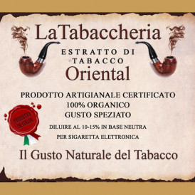 Extrait de tabac La Tabaccheria - Oriental - 10ml