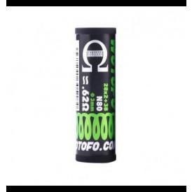 Boite de 10 coils préfaits Wotofo Dual Core Fused Clapton - 28Ga x 2 + 38Ga Ni80