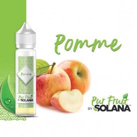 Liquide prêt-à-booster Pur Fruit by Solana - Pomme - 50ml