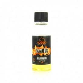 Liquide prêt-à-vaper Eliquid France - Premium - Famous - 50ml