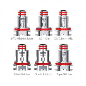 Résistances RPM 40 Coil de Smok (x5)