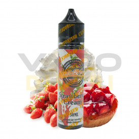 E-liquide Customixed Strawberry Cream - 50ml