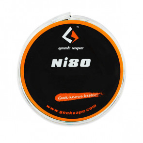 Bobine de fil résistif Ni80 10M GeekVape