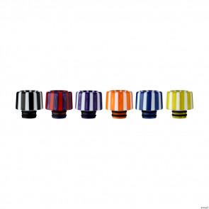 Drip Tip 510 en résine Epoxy #4 (couleur aléatoire)
