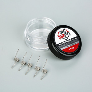 BoomStick Engineering - Coils Nano Fused Clapton Ni80 0.9~1.0ohm (x5)
