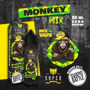 Liquide Prêt-à-Booster Super Flavor - Monkey Mix By SVAPO BATTLE - 50ml